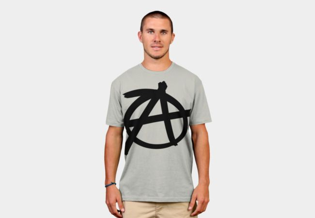 Anarchy symbol T-Shirt - Design By Humans #Anarchy #symbol #Anarchysymbol #Anarchist #sonsofanarchy