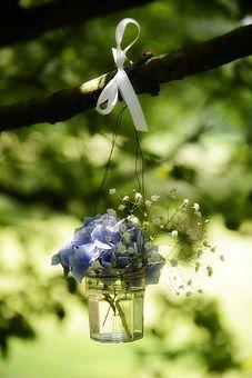 Flowers, Wedding, Party, Romantic