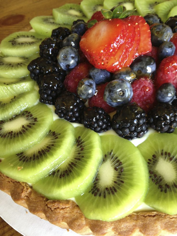 Fruit Tartelette - Our buttery and sweet crust filled with vanilla ...