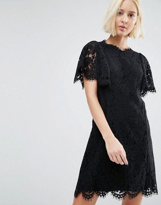 Whistles | Кружевное платье Whistles Arabella