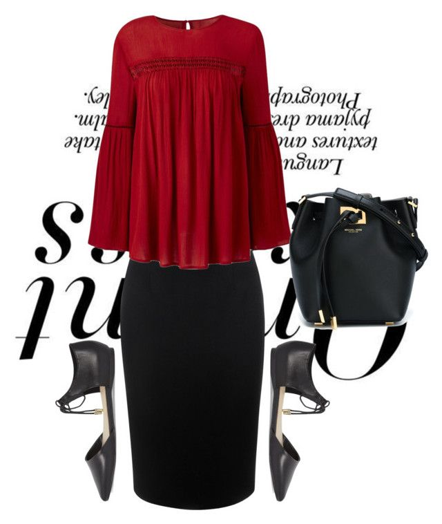 """New day.. New choices"" by modestyiskey ❤ liked on Polyvore featuring Nicole, Alexander McQueen, ALDO and Michael Kors"