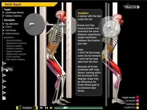 Knee Valgus Collapse During Squat