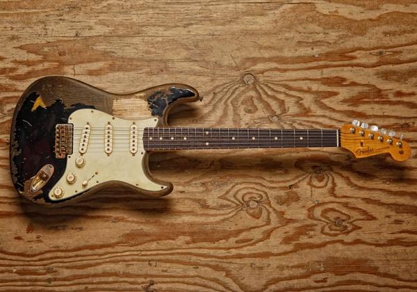 "Fender ""John Mayer Limited Edition BLACK1"" (DREAM GUITAR)"