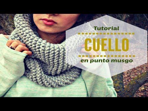 Cuello tejido a crochet de doble cara. Versión 1. - YouTube