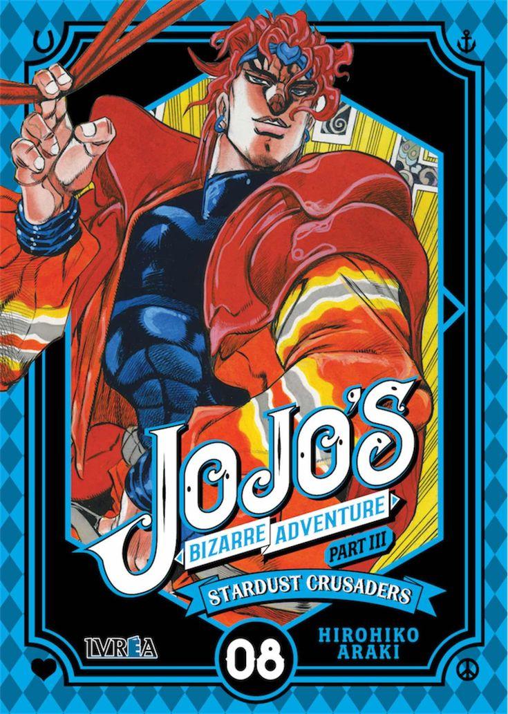 JOJO'S BIZARRE ADVENTURE PARTE 3 STARDUST CRUSADERS 08