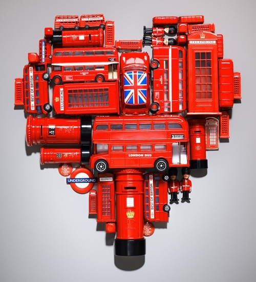 An Anglophile's heart. Brilliant idea! Very cool!