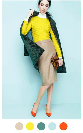 i'd wear everything here minus the leopard print clutch. i don't like animal prints AT ALL!