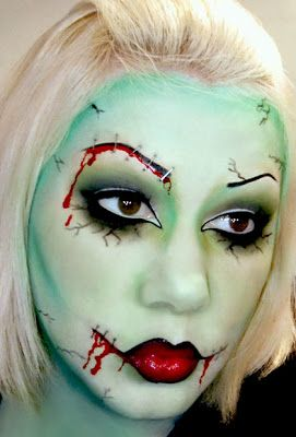 Style Fashion Music Culture Urban Legends Magic People: Amazing Halloween Make Up - Ideas For 2013
