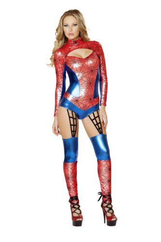 Roma Costume Womens 1 piece Web Crawler RedBlue Small *** Want additional info? Click on the image-affiliate link.