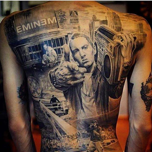 "L14 @soinguyen177 ""SHADY"" #eminem #rap #rapmonster #rapper #rapping #rapmusic #music #backtattoo #backpiece #blackandgrey #blackandgreytattoo #ink #inked #skinart #tattoo #tattoos #tatuaje #beautiful #beauty #model #photography #photoshoot #la #laart #nyc #nycart #uk #ukart #australia #brazil…"