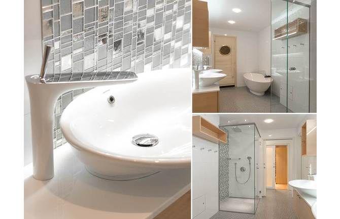 Isoi kylpyhuone