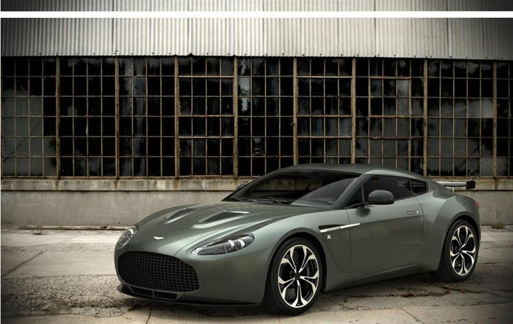 The ultra exclusive Aston Martin V12 Zagato