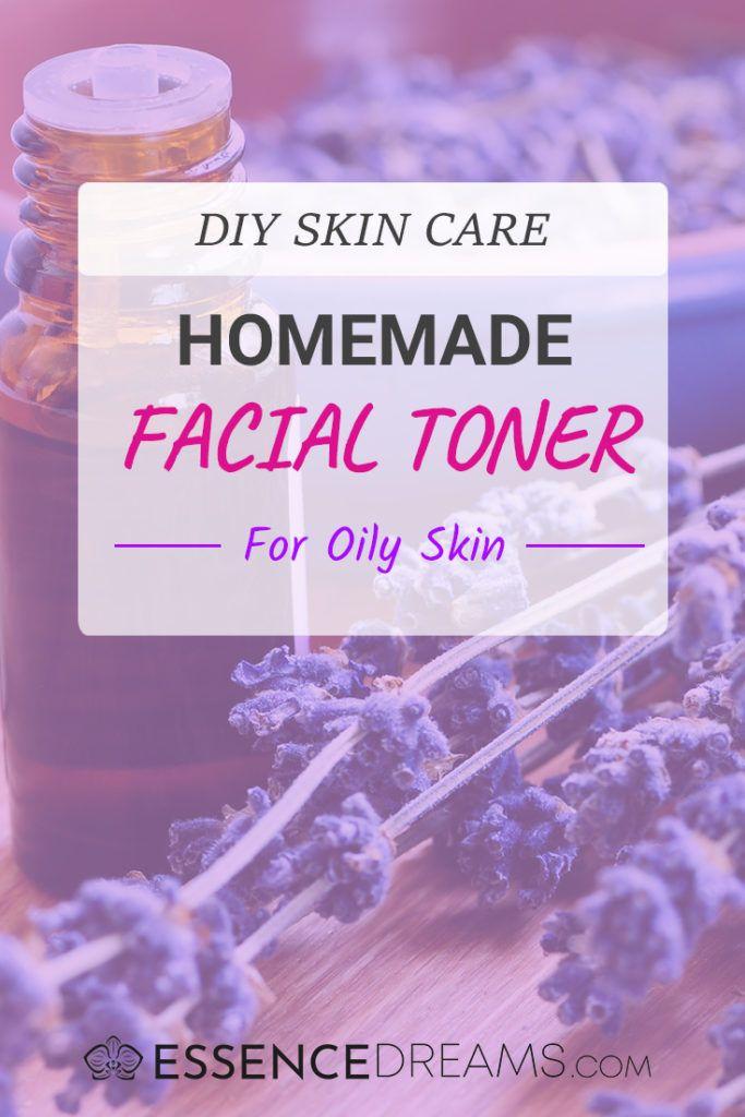 DIY Facial Toner for Oily Skin with Essential Oils