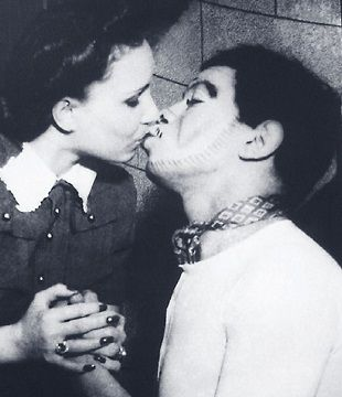 "Mario Moreno ""Cantinflas"" and wife Valentina Ivanova"