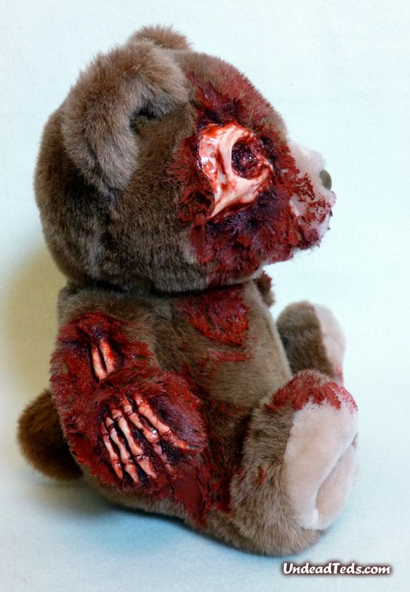 Undead Teds Cute and Fluffy Zombie Teddy Bears