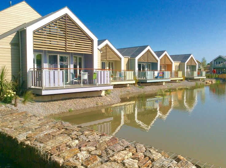 Excellent new chalets at Butlins a fully clad with Cedral Weatherboard - had a great holiday!
