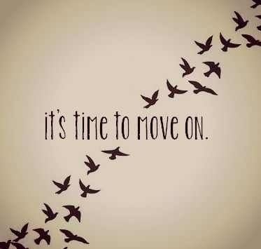 Move on and start a new beginning.  #recovery #soberlivinghome #moveon
