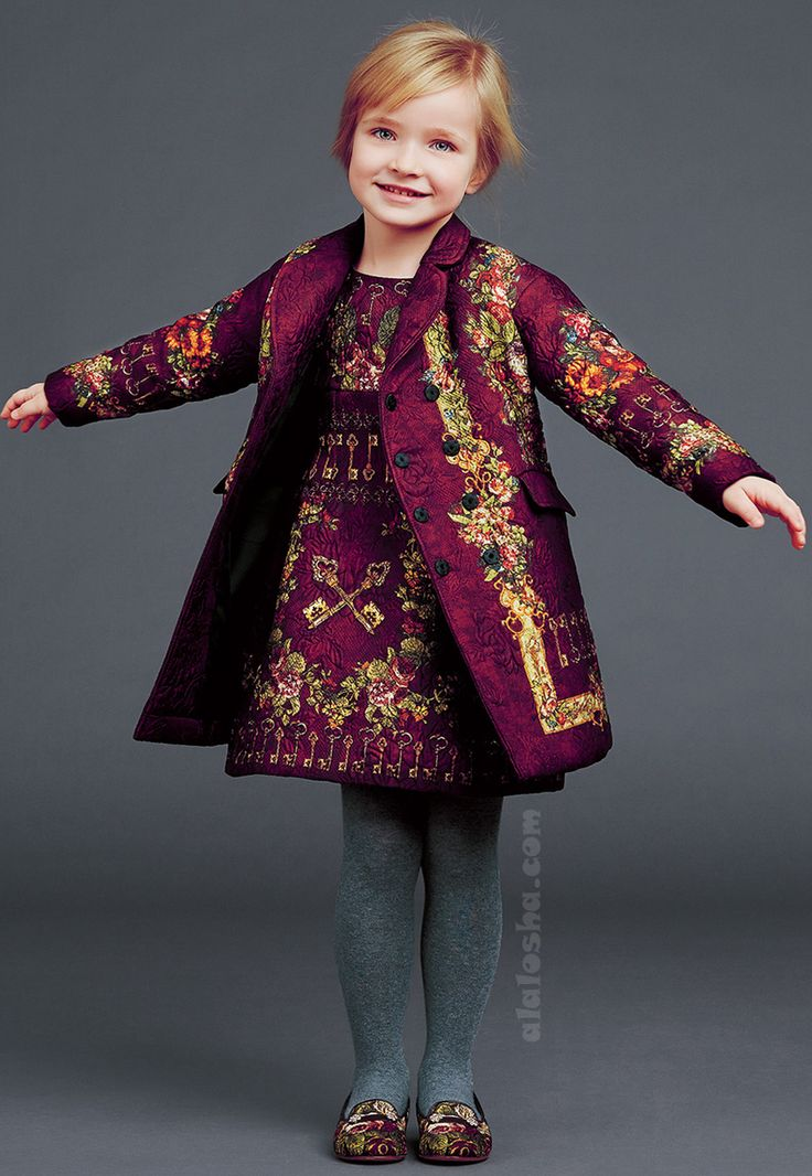 Alalosha Vogue Enfants Child Model Of The Day Lёlya: ALALOSHA: VOGUE ENFANTS: Royal Collection From Dolce