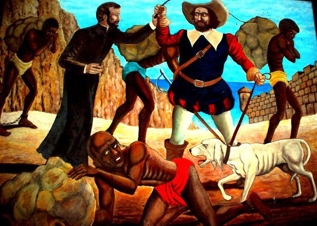 Day 176: San Pedro Claver, patron saint of slaves, Convento y Iglesia San Pedro Claver, Cartagena (Colombia)