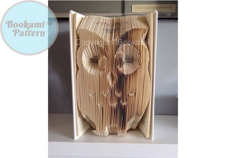 A personal favourite from my Etsy shop https://www.etsy.com/listing/224784301/bookami-owl-book-foldingbookfolding