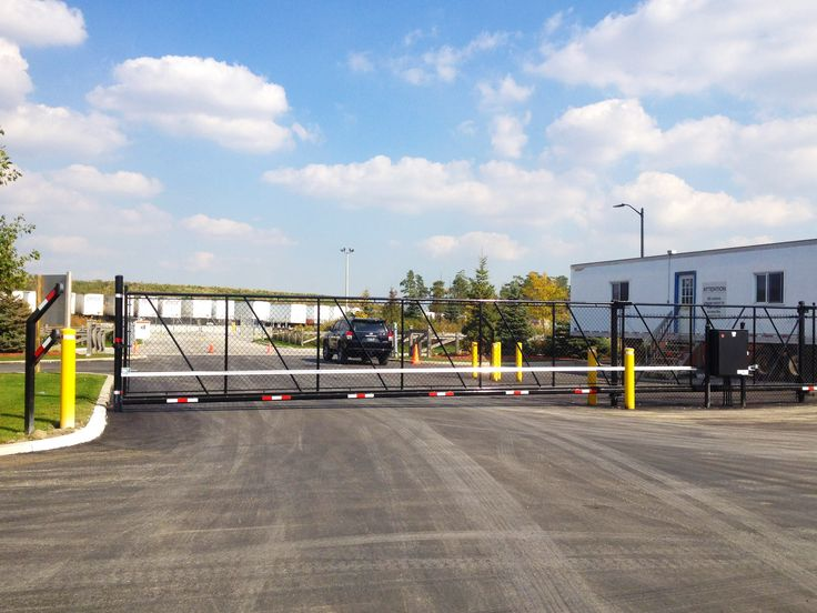 Trucking & Transportation Slide Gate #Transportation #AutomedGates #SlideGate