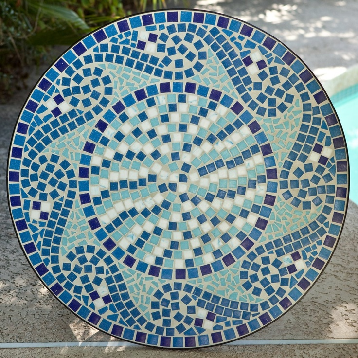 25 best ideas about bistro tables on pinterest french bistro decor patio tables and lowes - Basics mosaic tiles patios ...
