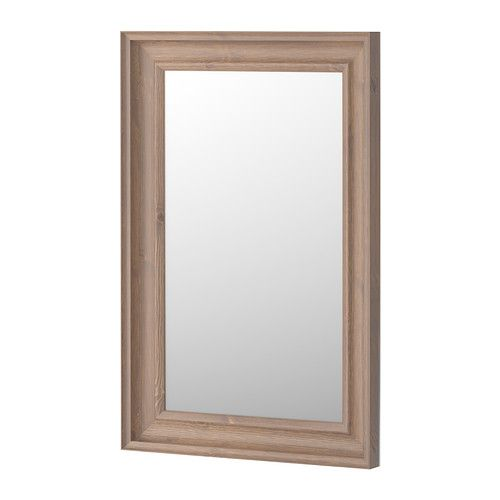 HEMNES Mirror IKEA Can be hung horizontally or vertically. Safety film  reduces damage if glass is broken.