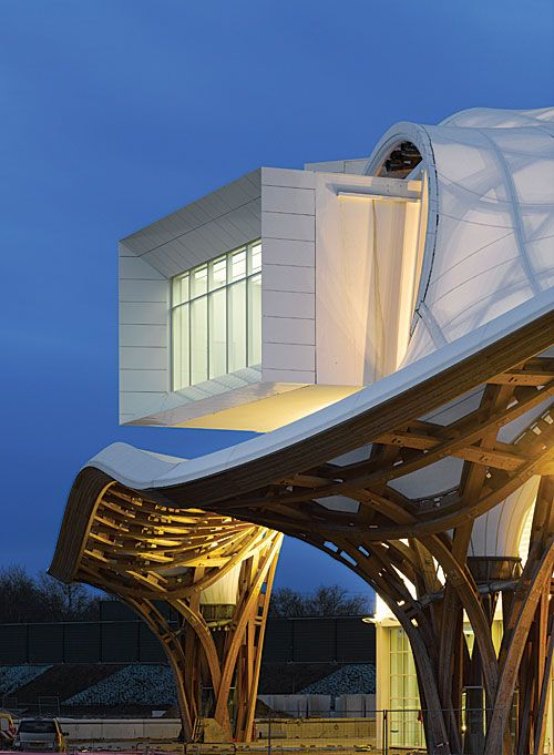 The Centre Pompidou-Metz. By Shigeru Ban and Jean de Gastines.