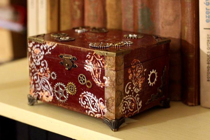 diy steampunk box