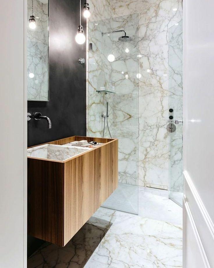 25+ melhores ideias de Chuveiro moderno no Pinterest  Banheiros modernos, Ch -> Banheiros Modernos Chuveiro