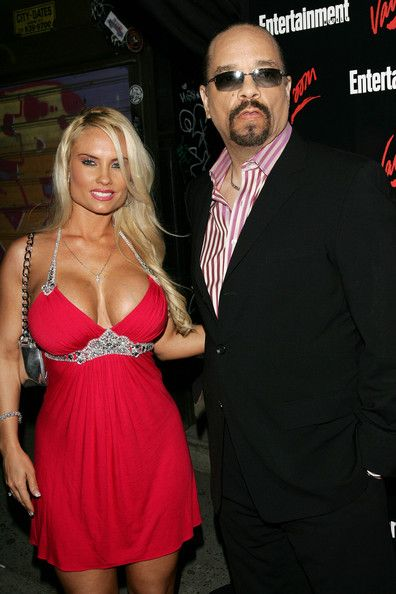 Ice T and Coco entertainment weekly upfront party