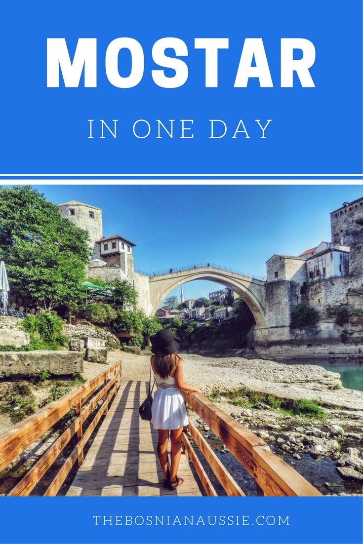 If you only have one day in Mostar, Bosnia & Herzegovina, but want to see the best attractions?     http://www.thebosnianaussie.com/blog/mostar-in-one-day/