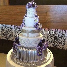 Свадебный торт Серебряный век
