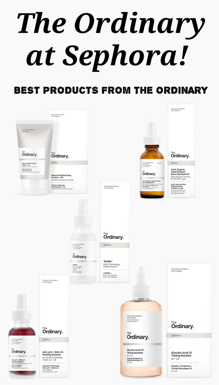 The Ordinary is now available at Sephora, and here are 10 of the best products from The Ordinary