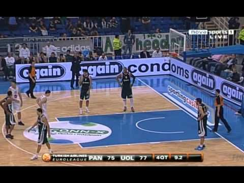 [3D] - Dimitris Diamantidis: 13 points in 75 seconds [HD]