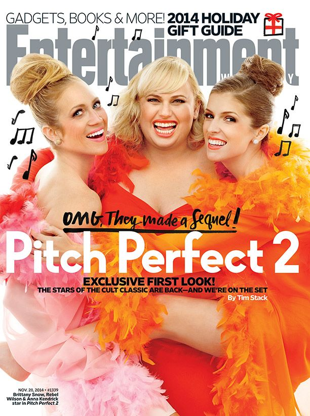 The Bellas are back! Get your exclusive first look at #PitchPerfect2: http://popwatch.ew.com/2014/11/19/this-weeks-cover-pitch-perfect-2/