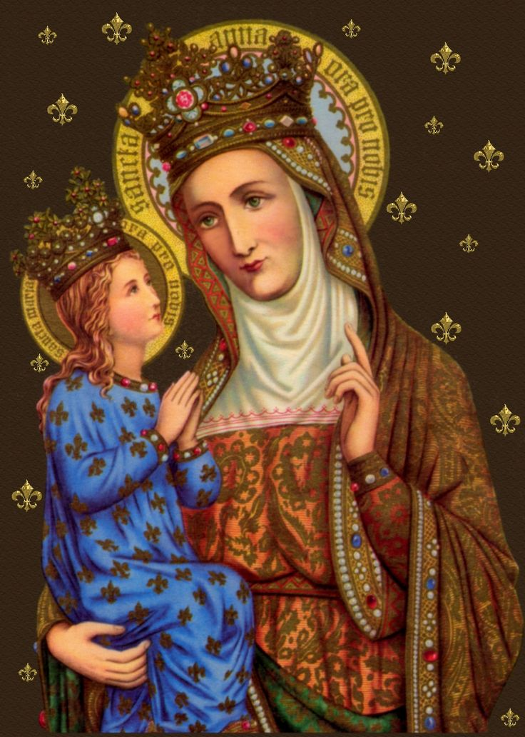 ST. ANN and her daughter BVM