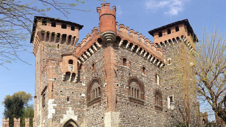 Castle in Montichiari, Italy-Danielle Barton