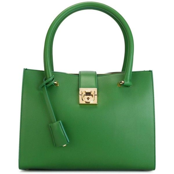 Top 25  best Green tote bags ideas on Pinterest | Brown leather ...