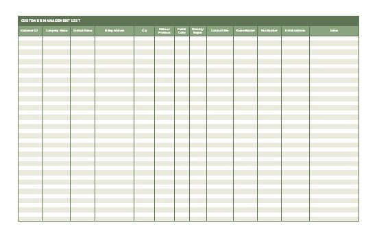 Excel sample interest Excel spreadsheets Pinterest - contact list excel template