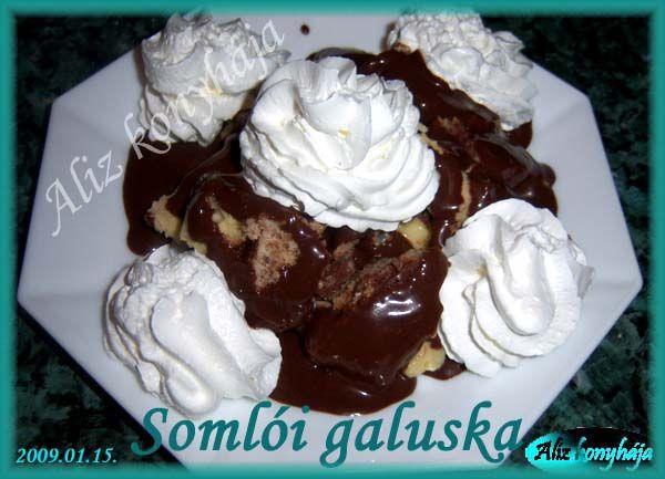 Somlói galuska - Aliz konyhája - minden recepthez fázisfotók