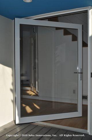 Perfect Pivot Doors By Solar Innovations, Inc.   Modern   Front Doors   Other Metro    Solar Innovations, Inc.
