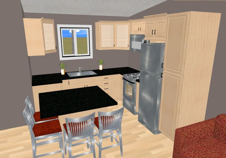 42 best images about cozy 39 s 500 599 sq ft small house for 7 ft kitchen ideas