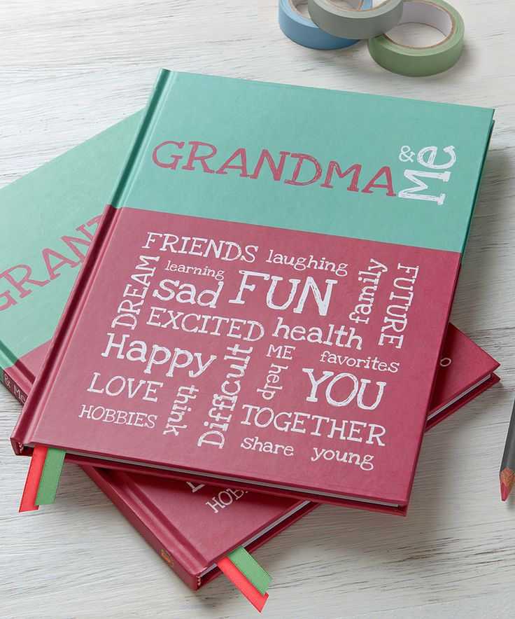 Love this from you to me 'Grandma & Me' Keepsake Memory Book by from you to me on #zulily! #zulilyfinds