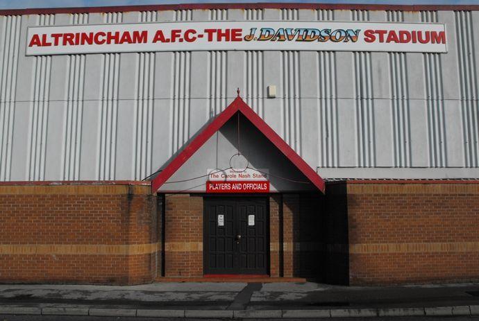 Altrincham FC Ground: The J. Davidson Stadium
