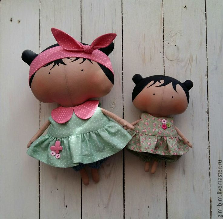 Купить Малышка Sweetheart Doll - мятный, тильда, кукла текстильная, кукла…