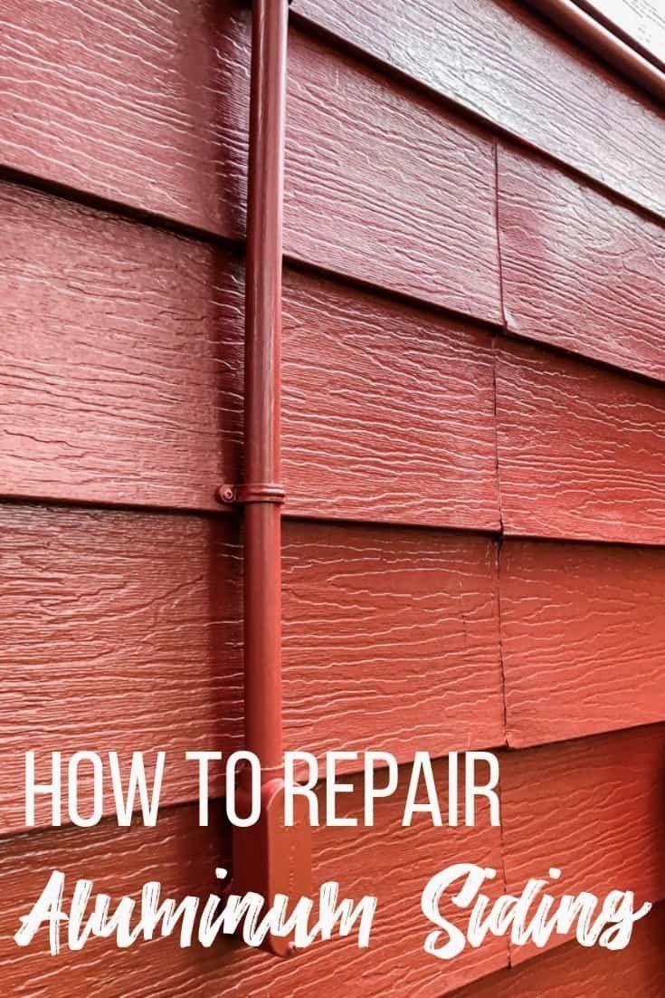 How To Repair Aluminum Siding Aluminum Siding Home Repair Siding