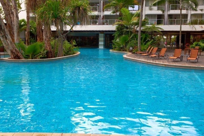 Drift Apartment  Situated on Palm Cove's esplanade, the design of Drift Apartments incorporates themes of the beach and the lush tropical rainforest of Far Northern Queensland.  Check offers http://www.fnqapartments.com/accom-drift-apartment/ #palmcove #cairns #privateapartment