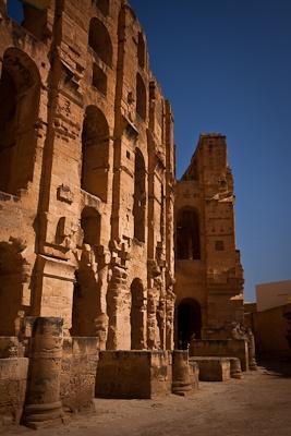 JOJO POST STAR GATES: El Djem, Mahdia, Tunisia.