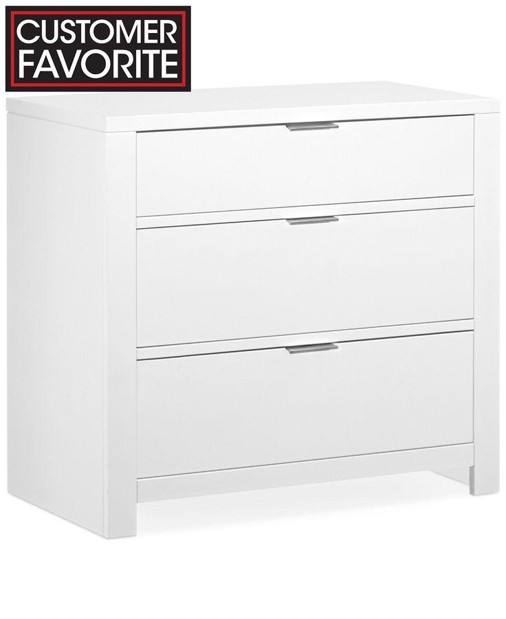Best Tribeca White 3 Drawer Chest Furniture Macy S Chest 400 x 300